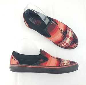RARE VANS SAMPLE Aztec Southwestern Slip On